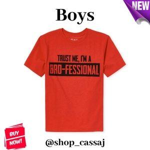 Boys' Bro-Fessional Graphic T-Shirt